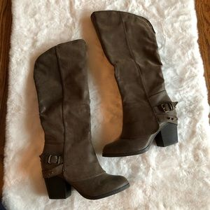 American Rag Emilee Taupe tall boots 7.5m